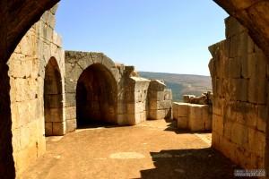 הארמון היפה בחלקו המערבי צפוני של מבצר נמרוד