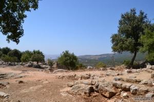 שטחו המרכזי של מבצר נמרוד