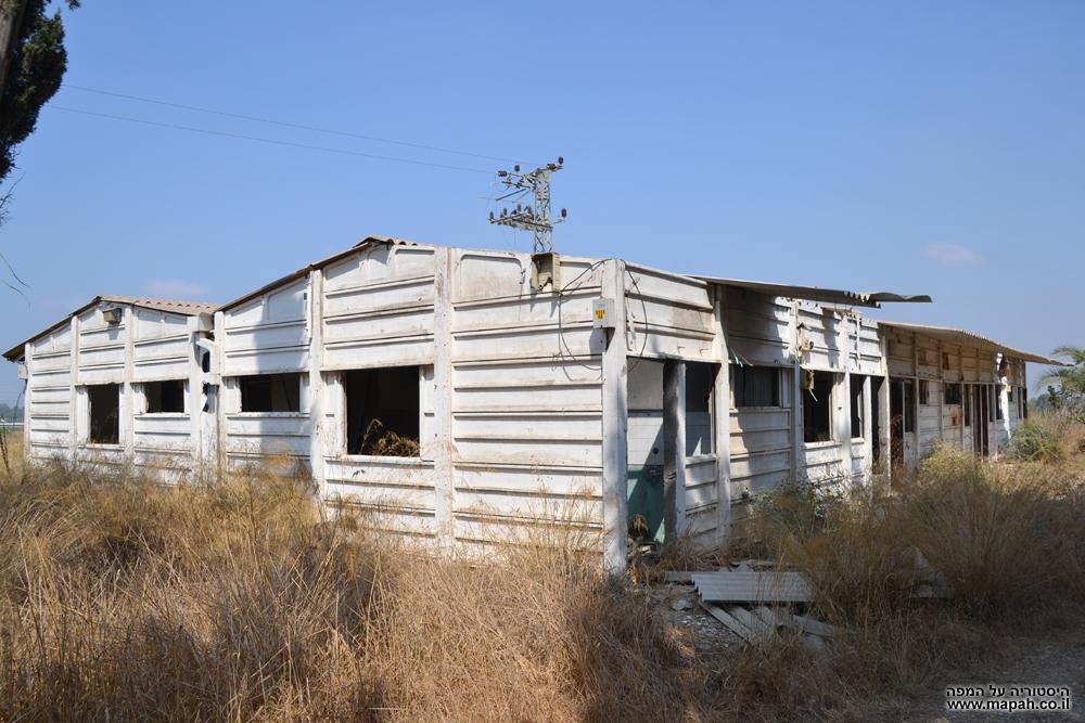 אחד מהמבנים האירעיים שהוקמו בסמוך לעליית העולים מאתיופיה