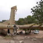 זנב מטוס הנורד 072 השוכן ביער המגינים