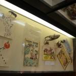 פריטים ומשחקים שונים בתצוגה במוזיאון מזכרת בתיה
