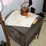 תנור אפיה מבוסס פתלייה במוזיאון מזכרת בתיה
