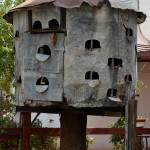 שובך היונים בחצר מוזיאון מזכרת בתיה