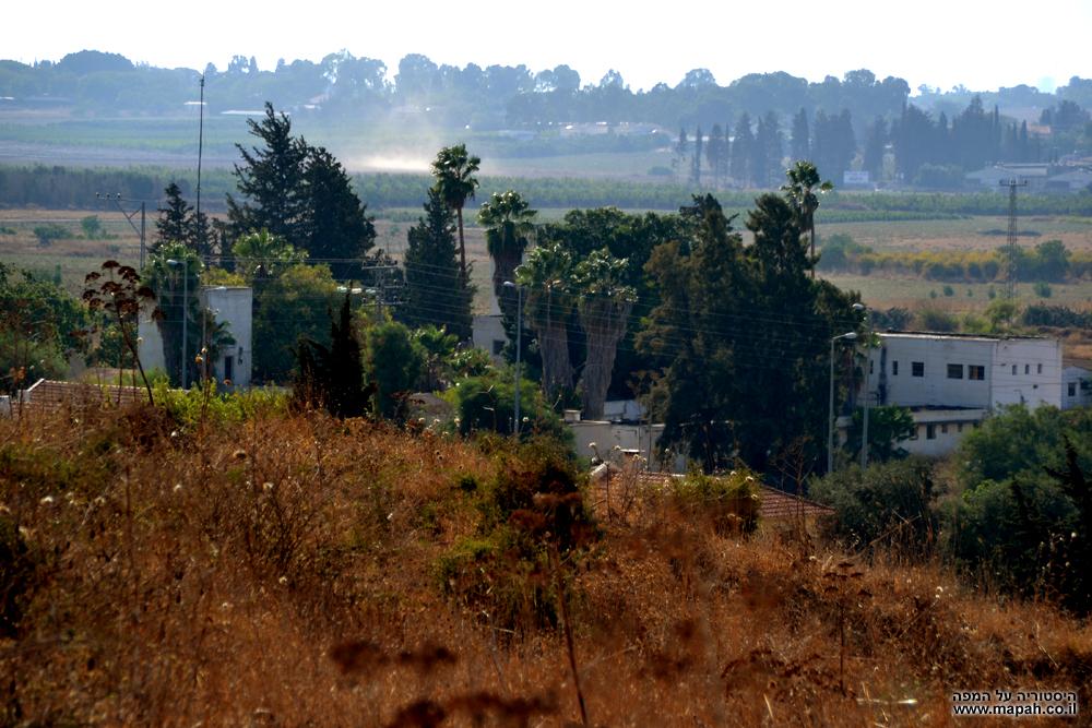 מצודת טיגארט - תחנת משטרת קטרה QATRA מערבית לגדרה