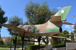 חלקו האחורי של מטוס המיסטר לזכרו של סגן חיים הולצמן ברחובות