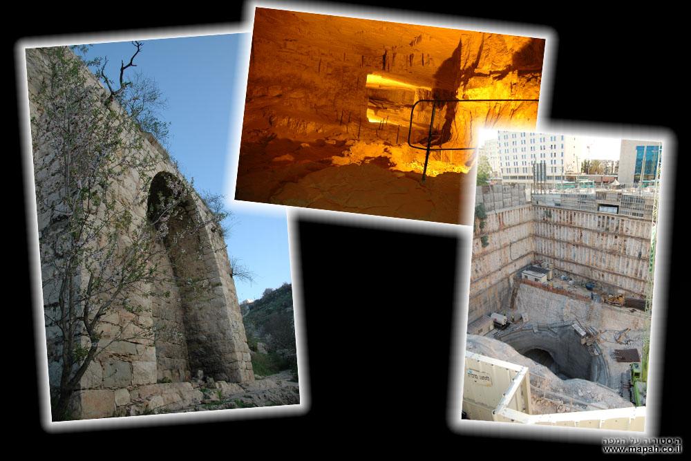 בתים מבפנים בירושלים 2012 - תמונת נושא - היסטוריה על המפה