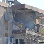 שעה לאחר הפגיעה בבניין המגורים בקרית מלאכי