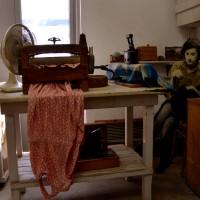 חדר הגיהוץ והכביסה במכבסת מכון איילון