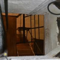 המנהרה המובילה מטה למפעל הנשק במכון איילון