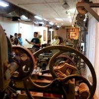 מקצה אולם המפעל במכון איילון