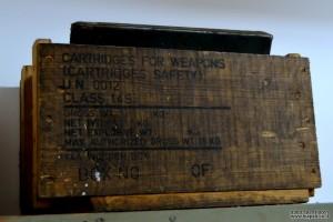 אחד מארגזי התחמושת בהם היו משתמשים במכון איילון