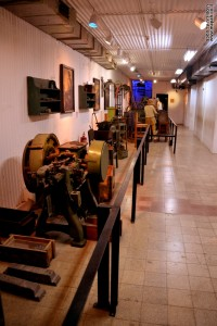 קצהו השני של מפעל הנשק במכון איילון
