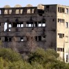 בניין מפקדת חסן סלמה בבאר יעקב - צילום: אפי אליאן