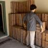 עמדת הוצאת הסחורה מחדר האריזה
