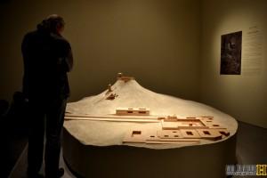 שחזור מבצר ההרודיון של הורדוס במוזיאון ישראל - צילום: אפי אליאן
