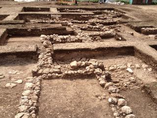 """שטח החפירה. צילום: ד""""ר יעקב ורדי, באדיבות רשות העתיקות"""