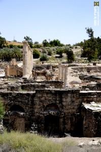 שרידי הנימפיאון בתל בית שאן