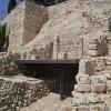שרידי מבנה בעיר דוד - צילום: אפי אליאן