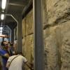 חומת הקיר המערבי באחת ממנהרות עיר דוד - צילום: אפי אליאן