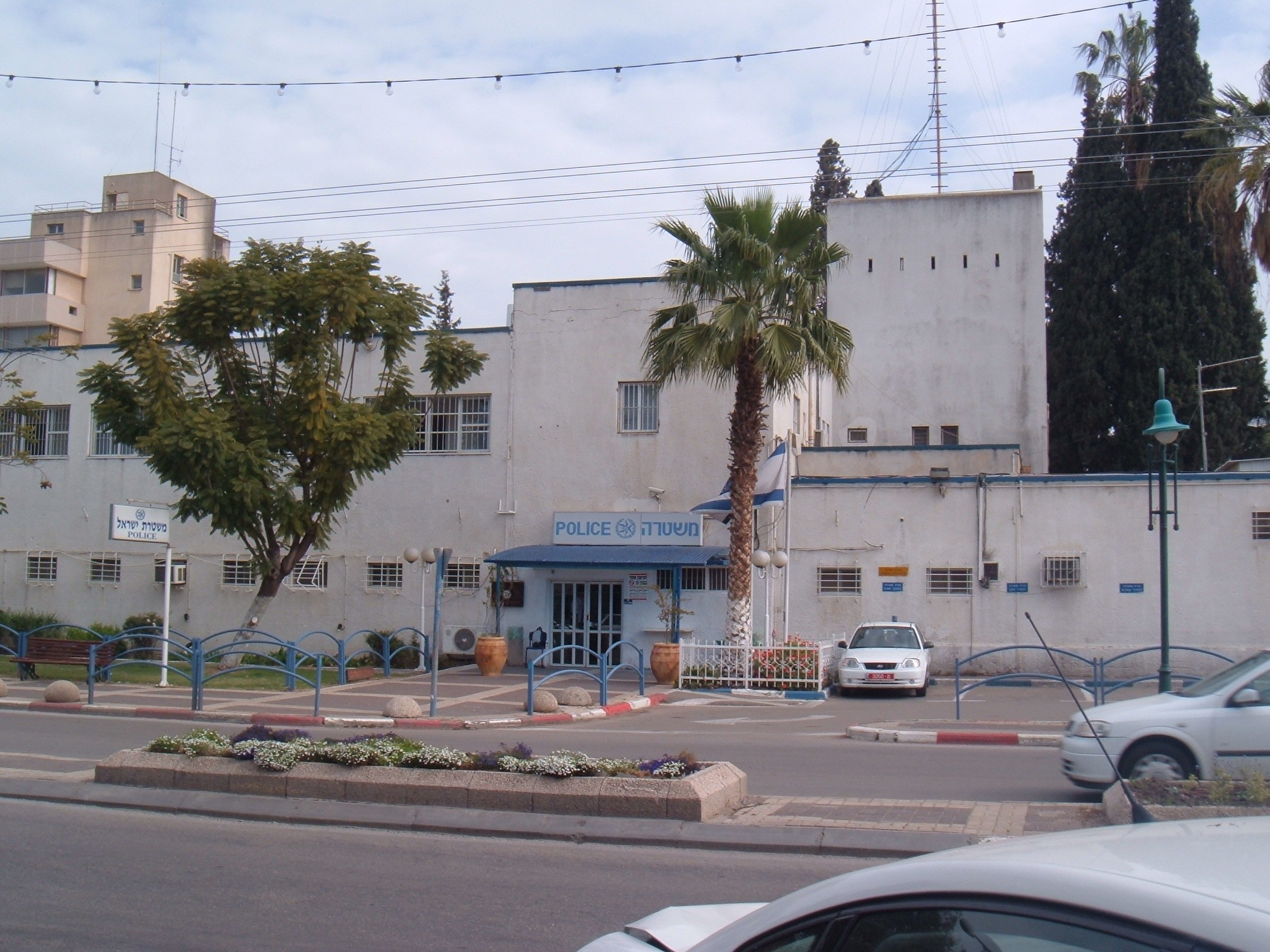 מבנה תחנת משטרת עפולה כיום - צילום: ארכיון האתר