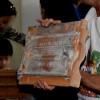 רעף מסוג מרסיי , ממנו בנוי גג המוזיאון - צילום: אפי אליאן