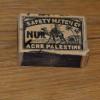 קופסת גפרורים מתקופת המנדט הבריטי - צילום: אפי אליאן