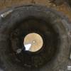 מבט מעלה בפנים מגדל הליצן - צילום: אפי אליאן