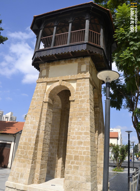 מגדל המים ברוטשילד ראשון לציון - צילום אפי אליאן