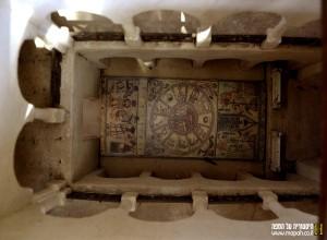 מודל בית הכנסת בית אלפא - צילום: אפי אליאן