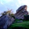 שרידי הביצורים של העיר הכנענית אשקלון - צילום: היסטוריה על המפה