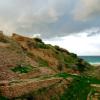 ביצורי העיר הכנענית בגן הלאומי אשקלון - צילום: אפי אליאן