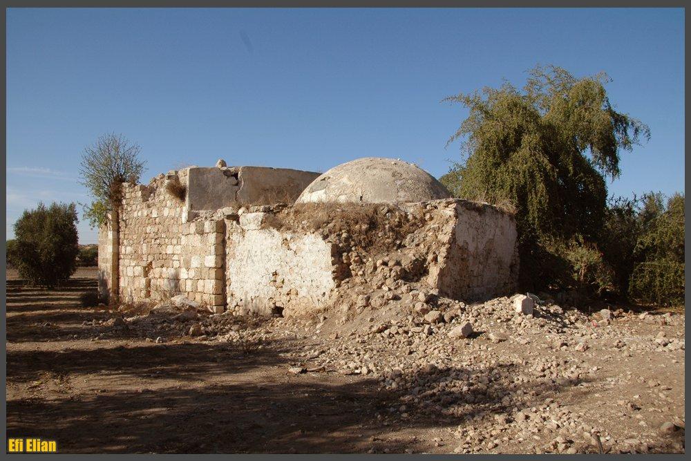 חלקו המזרחי כיפת הקבר - צילום: אפי אליאן