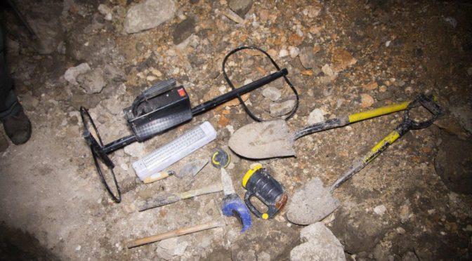 חוליית שודדים נתפסו בחפירת מנהרות עתיקות בגליל התחתון