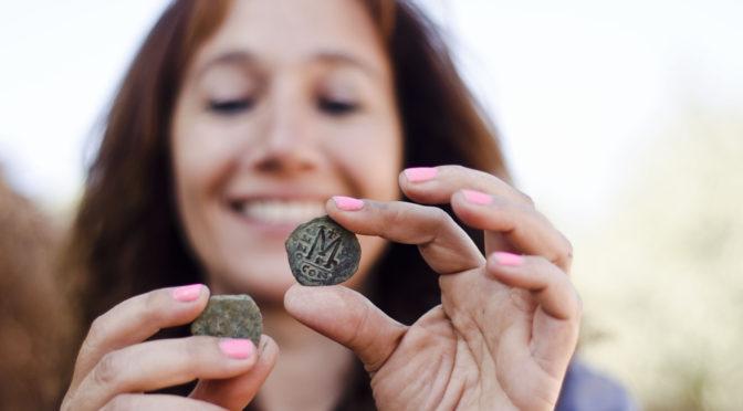 אוצר מטבעות בן 1400 שנה נחשף ליד עין חמד