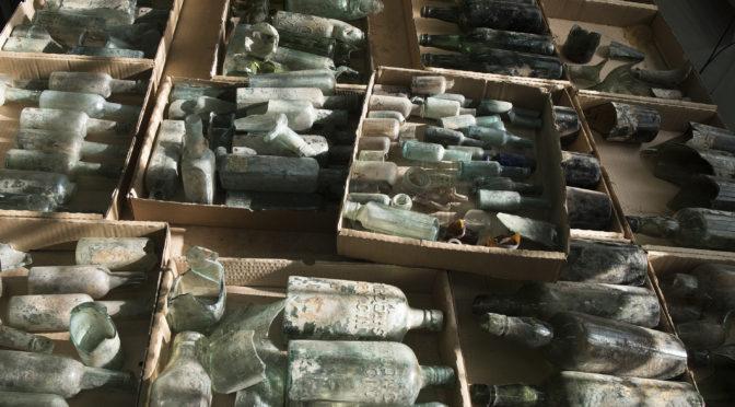 דרישת שלום ממלחמת העולם הראשונה – מאות בקבוקי שתיה חריפה של חיילים בריטים נחשפו ליד רמלה