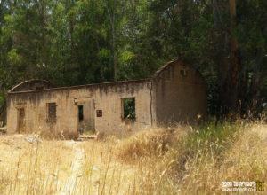 מבנה חד קומתי מזרחית למבנה הגדול בבית נבאללה - צילום: אפי אליאן