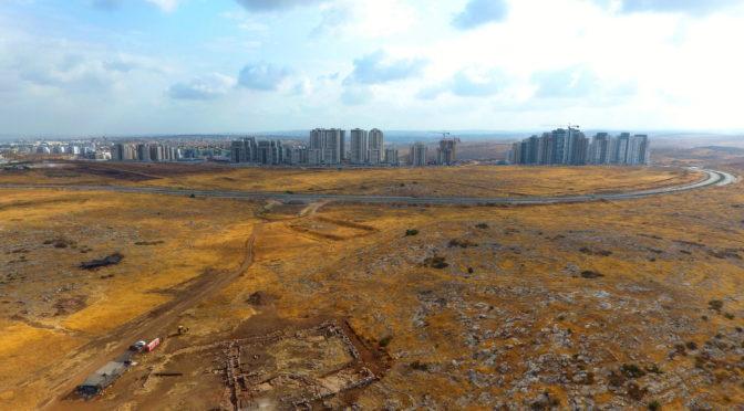 שרידי מפעל מים בן 2700 שנה נחשף בראש העין