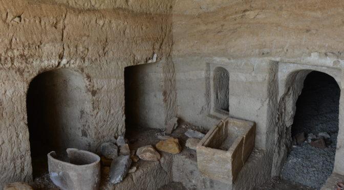 מערת קבורה בת כ-2000 שנה נחשפה בעבודות פיתוח בעיר טבריה