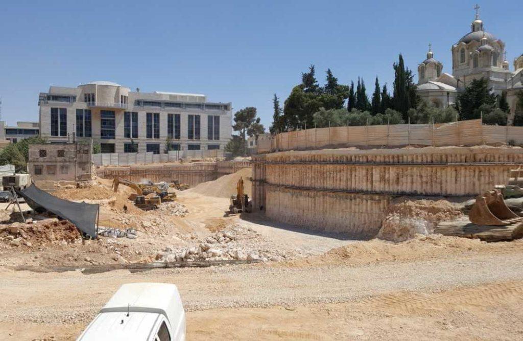 חפירת רשות העתיקות במגרש הרוסים בירושלים. צילום: כפיר ארביב