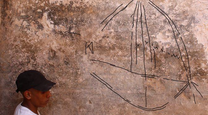 חרותות של ספינות ובעלי חיים נחשפו בבור מים עתיק בבאר שבע