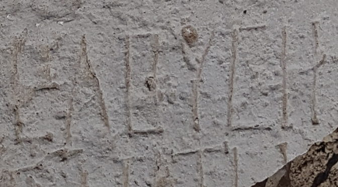 """כתובת עתיקה הנושאת את שם העיר העתיקה """"חלוצה"""" נחשפה בחפירות בנגב"""