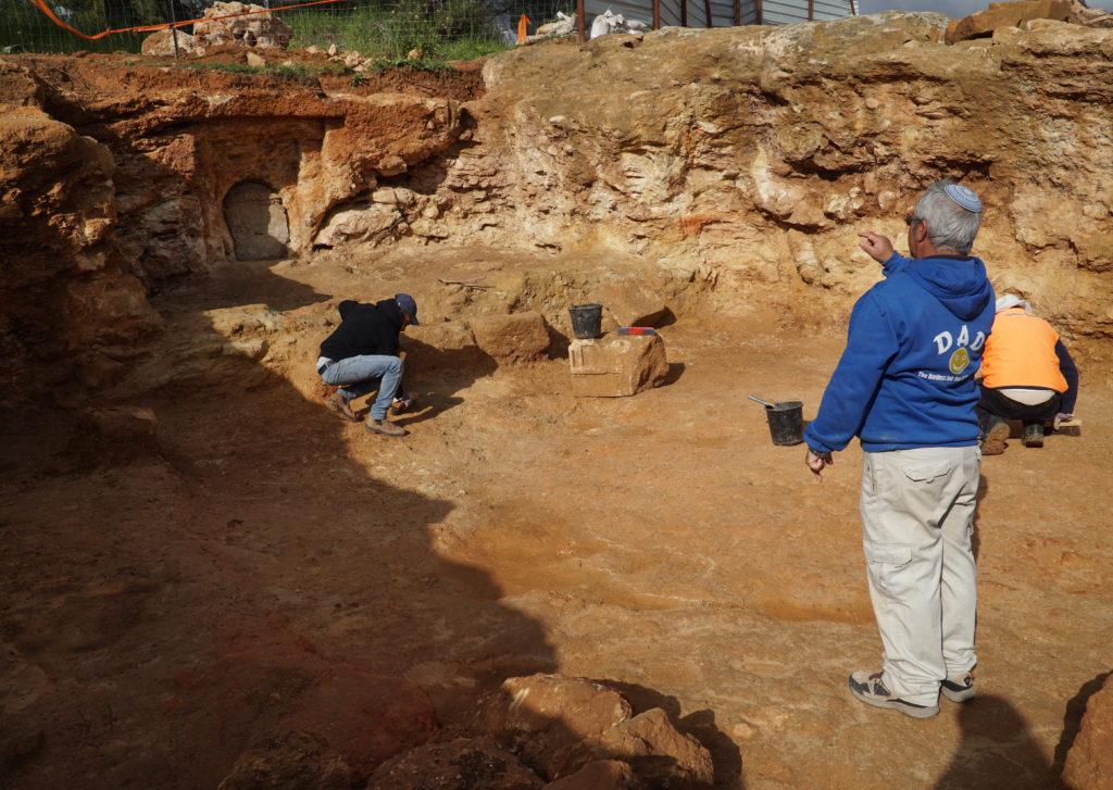 שרידי היישוב היהודי בשראפת - צילום: רשות העתיקות