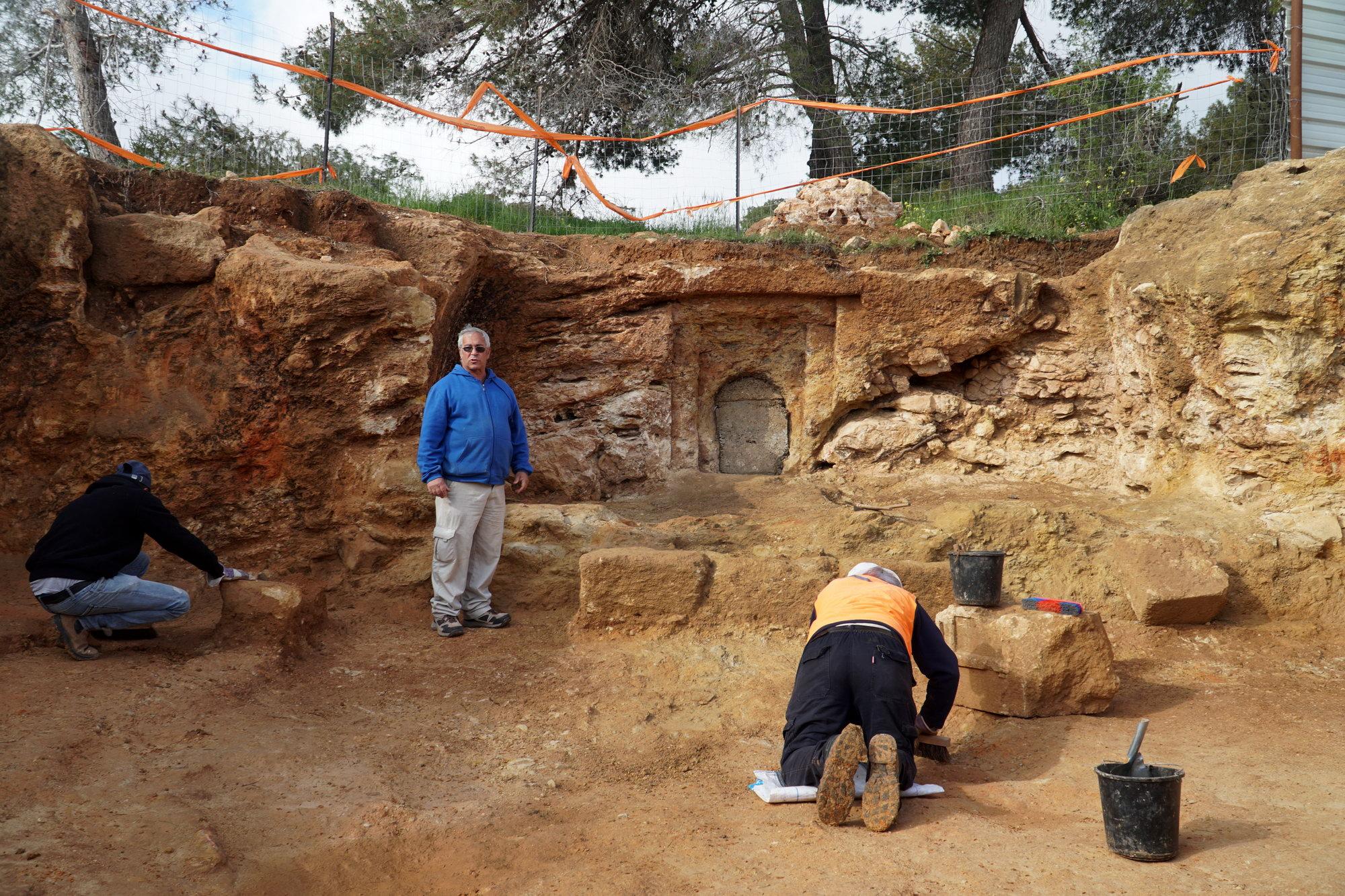 תמונות מאתר העתיקות בשראפת - צילום: רשות העתיקות