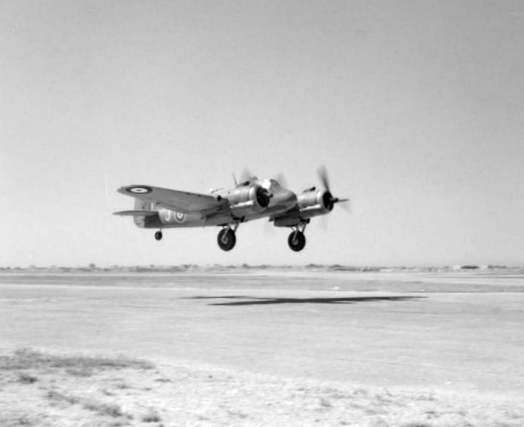 מטוסי הבופייטר המריאו מסט הצילומים ולא שבו - צילוןם: אוסף Imperial War Museums