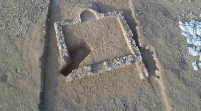 שרידי מסגד כפרי עתיק נחשף בחפירות ארכיאולוגיות בנגב