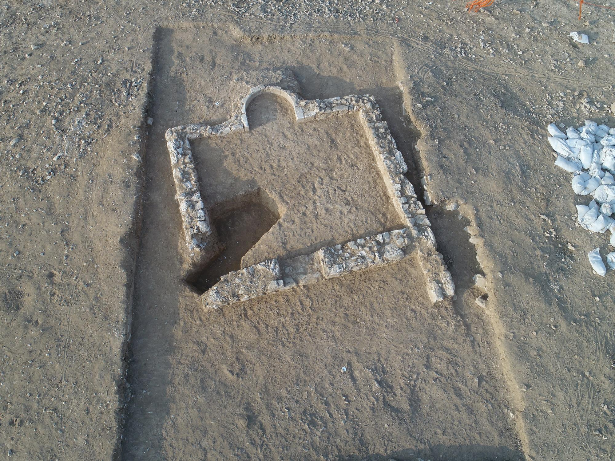 צילום אווירי: אמיל אלג'ם, רשות העתיקות