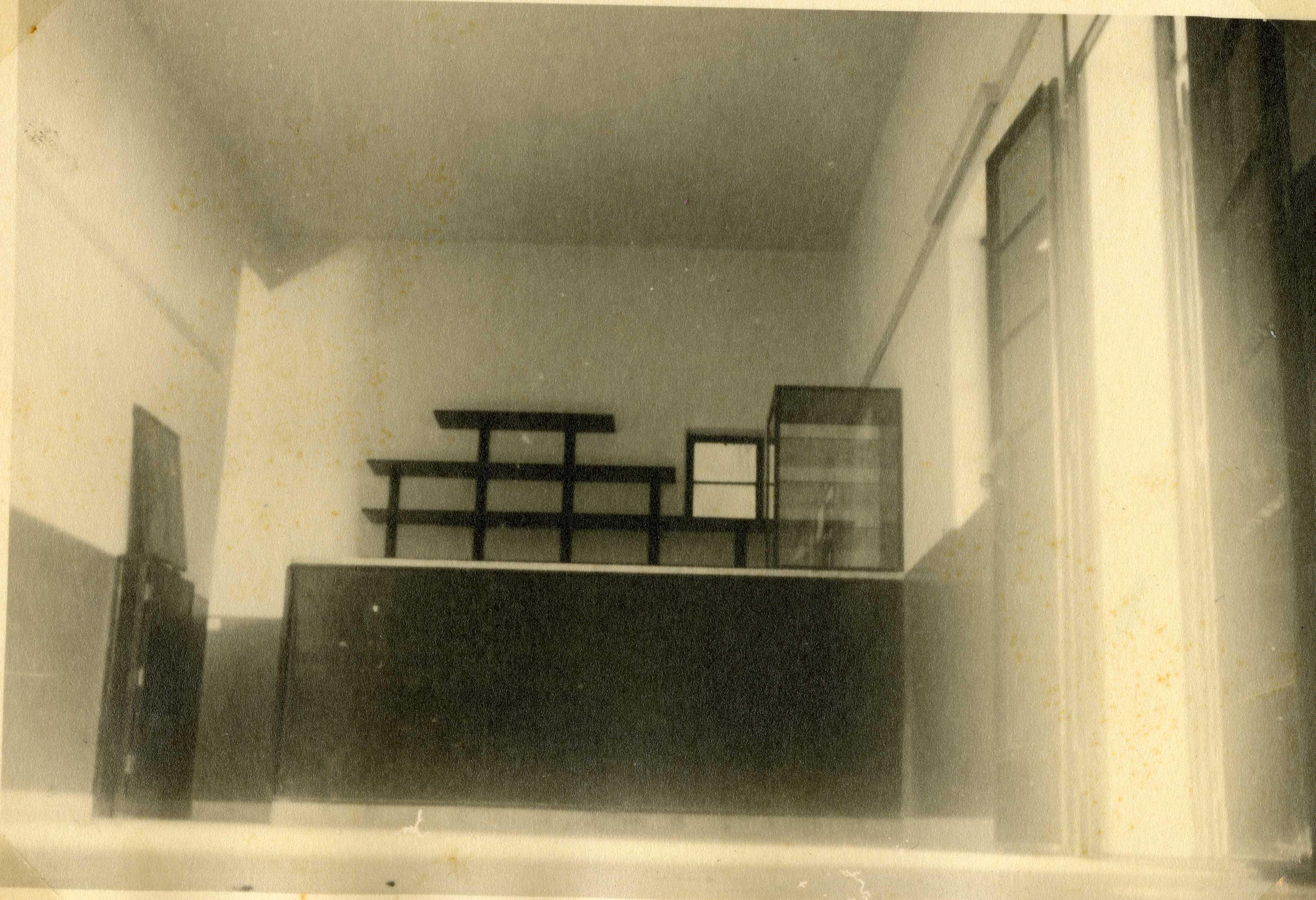 דוגמה למבנה חדר פנימי במשטרת חברון - מקור: ארכיון המדינה