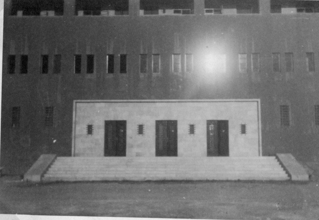 הכניסה הראשית למשטרת חברון - מצודת טיגארט - מקור: ארכיון המדינה