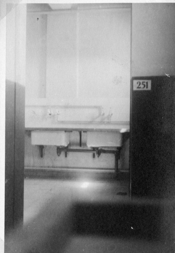 מטבח בתחנת משטרת חברון - מקור: ארכיון המדינה