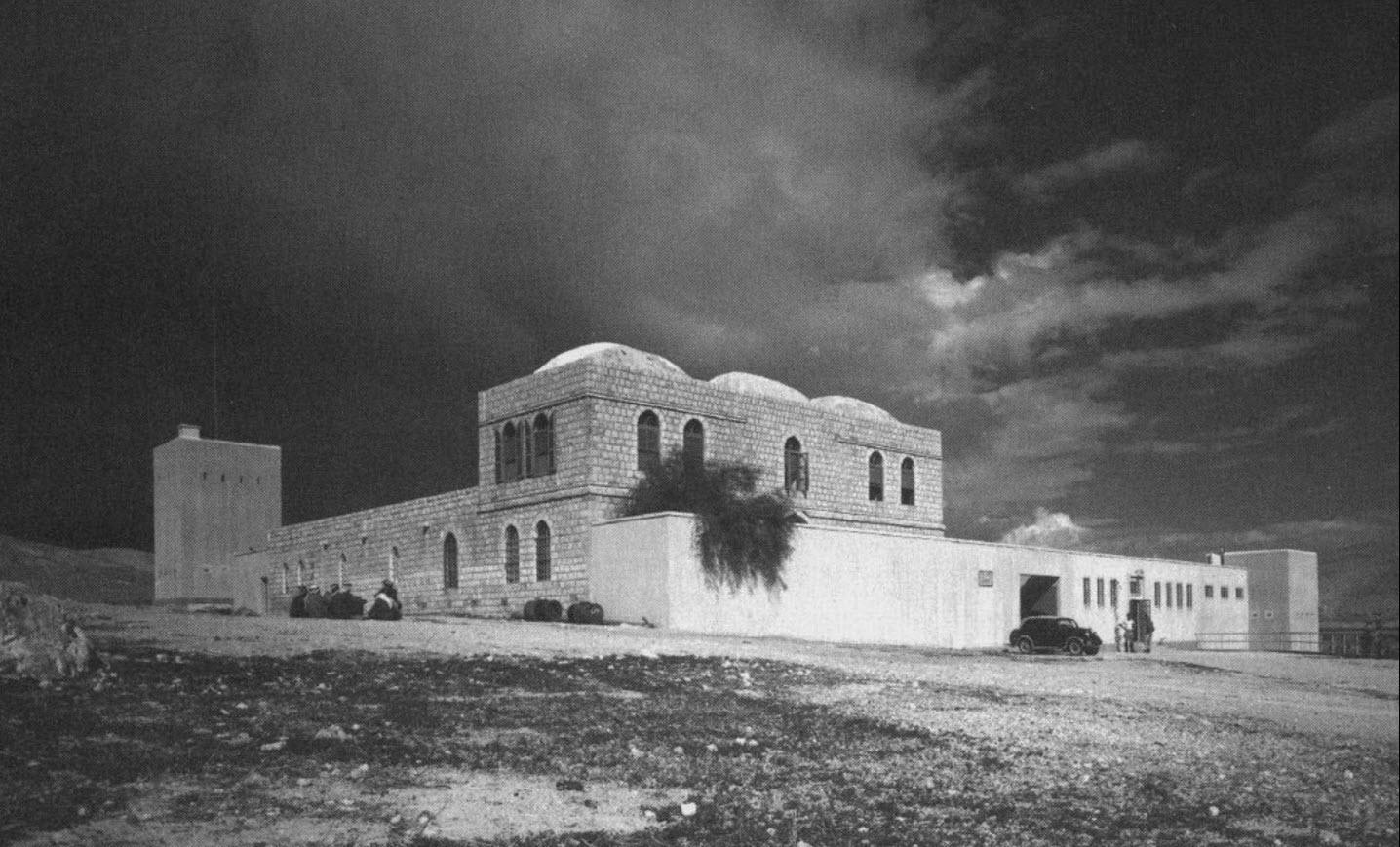 משטרת הג'יפתליק - צילום שמואל יוסף שוויג 1940-1941